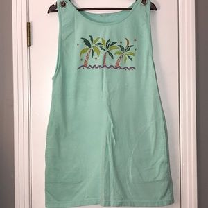 Other - Beach Palm Tree Dress/Coverup, Sz Med